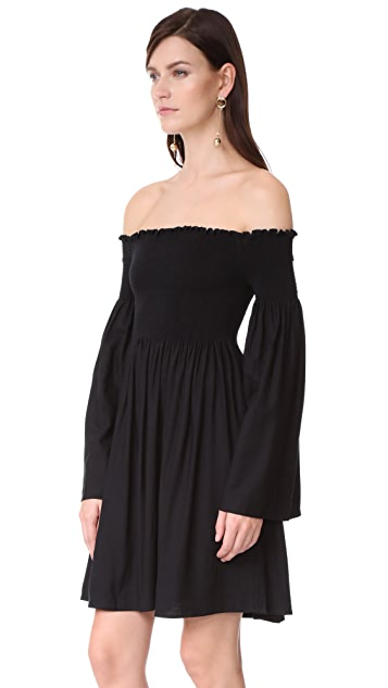 MLM LABEL Portland Off Shoulder Dress