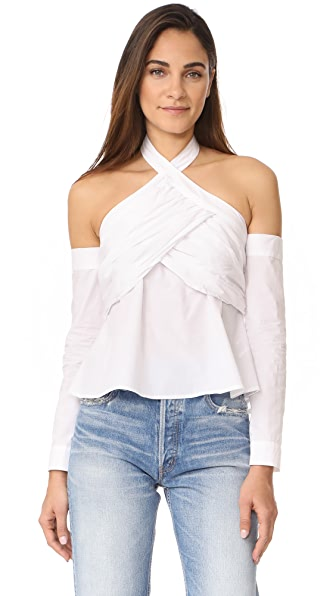 MLM LABEL Avery Top - White