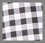 Black/White Large Check