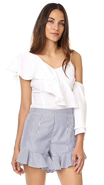 MLM LABEL Clyde Top - White Linen
