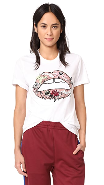 Markus Lupfer Artic Flower Lip Alex Tee