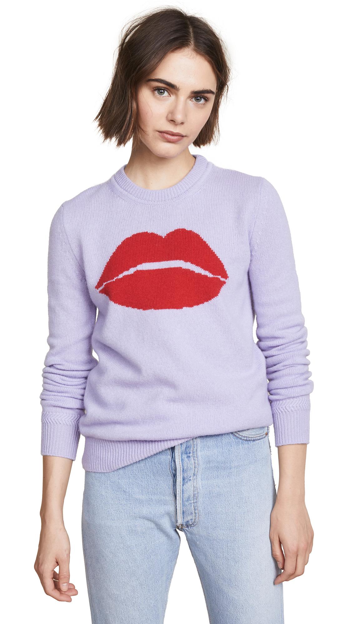 Mia Pullover Sweater, Lilac