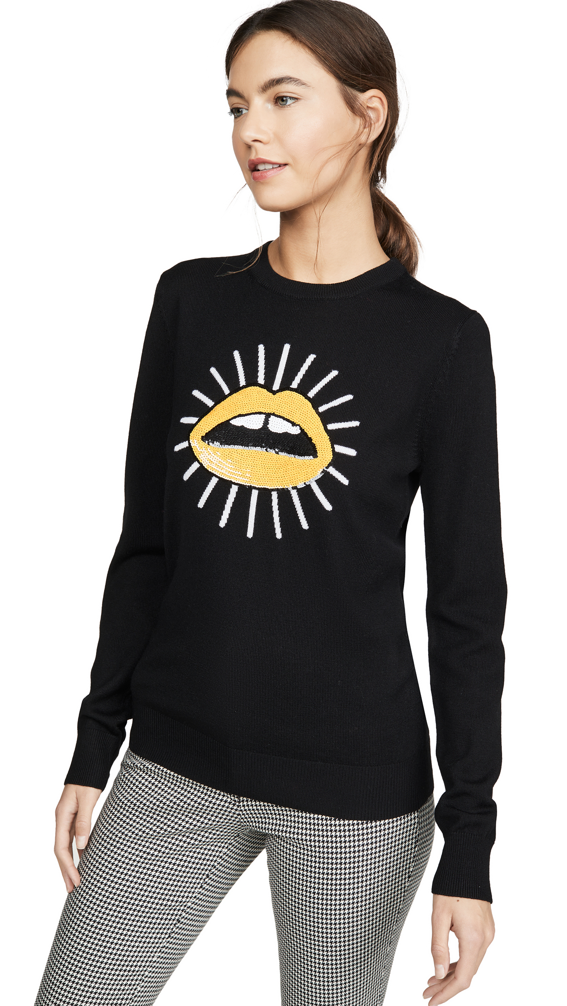 Buy Markus Lupfer online - photo of Markus Lupfer Mia Sun Sequin Sweater