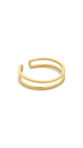 Maya Magal Midi Outline Ring - Gold