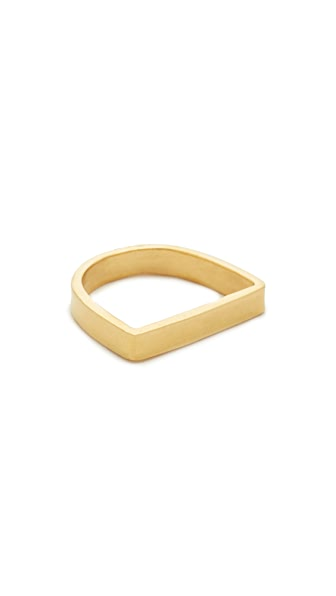 Maya Magal Stacking Runway Ring - Gold
