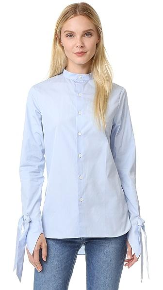 Marie Marot Polly Mandarin Shirt