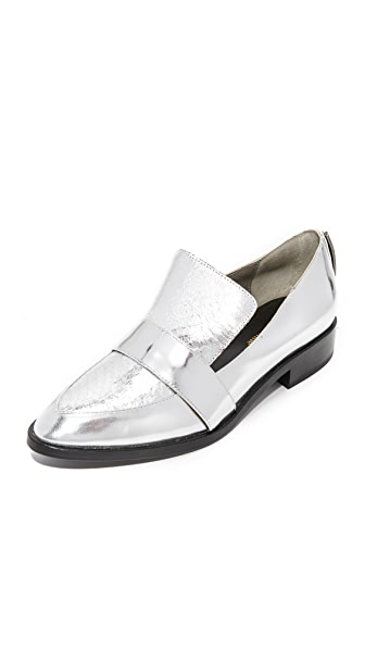 Mara & Mine Camilla Metallic Loafers