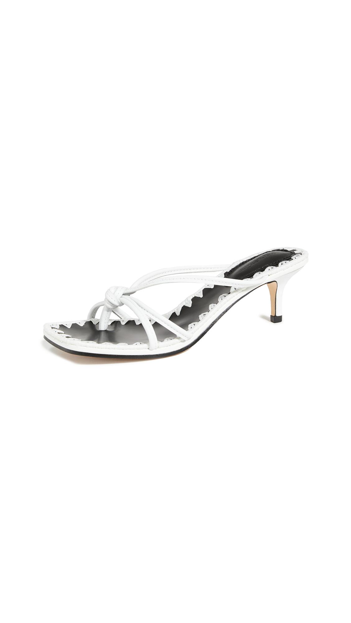 Buy Mara & Mine Azeline Kitten Heel Sandals online, shop Mara & Mine