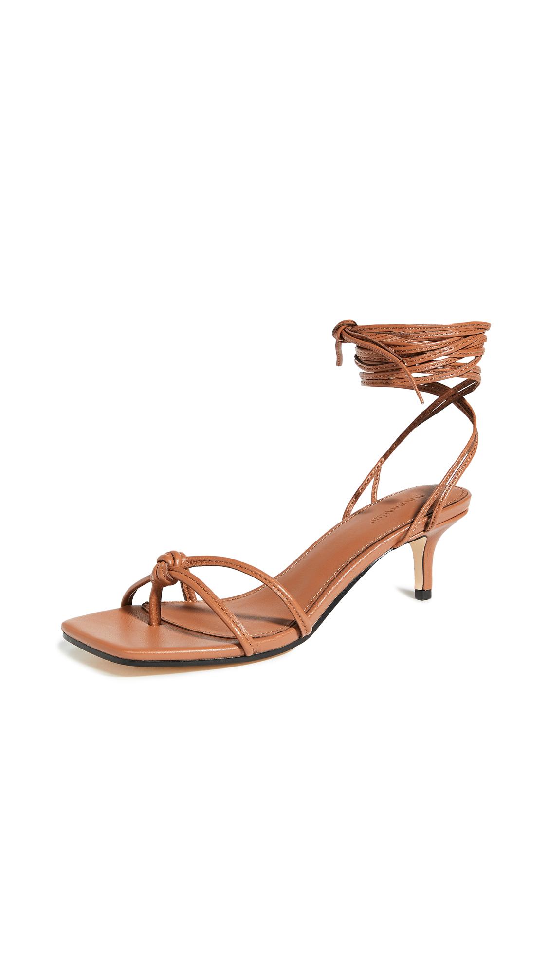 Buy Mara & Mine Olympia Kitten Heel Sandals online, shop Mara & Mine