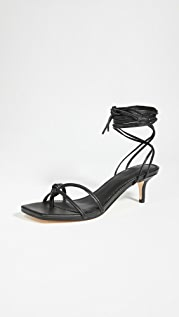 Mara & Mine Olympia Kitten Heel Sandals