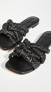 Mara & Mine Theresa Scrunchie 凉鞋