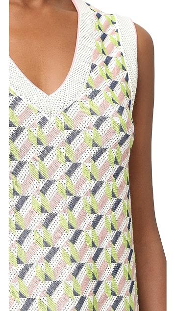 M Missoni Geometric Dress