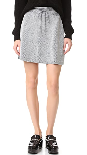 M Missoni Metallic Knit Skirt