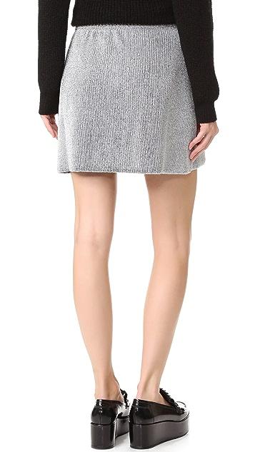 M Missoni Metallic Knit Skirt