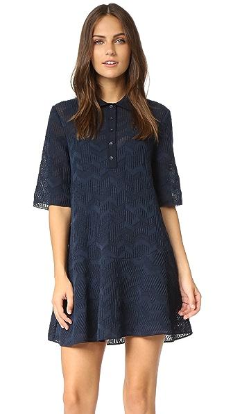 M Missoni Solid Fancy Knit Dress