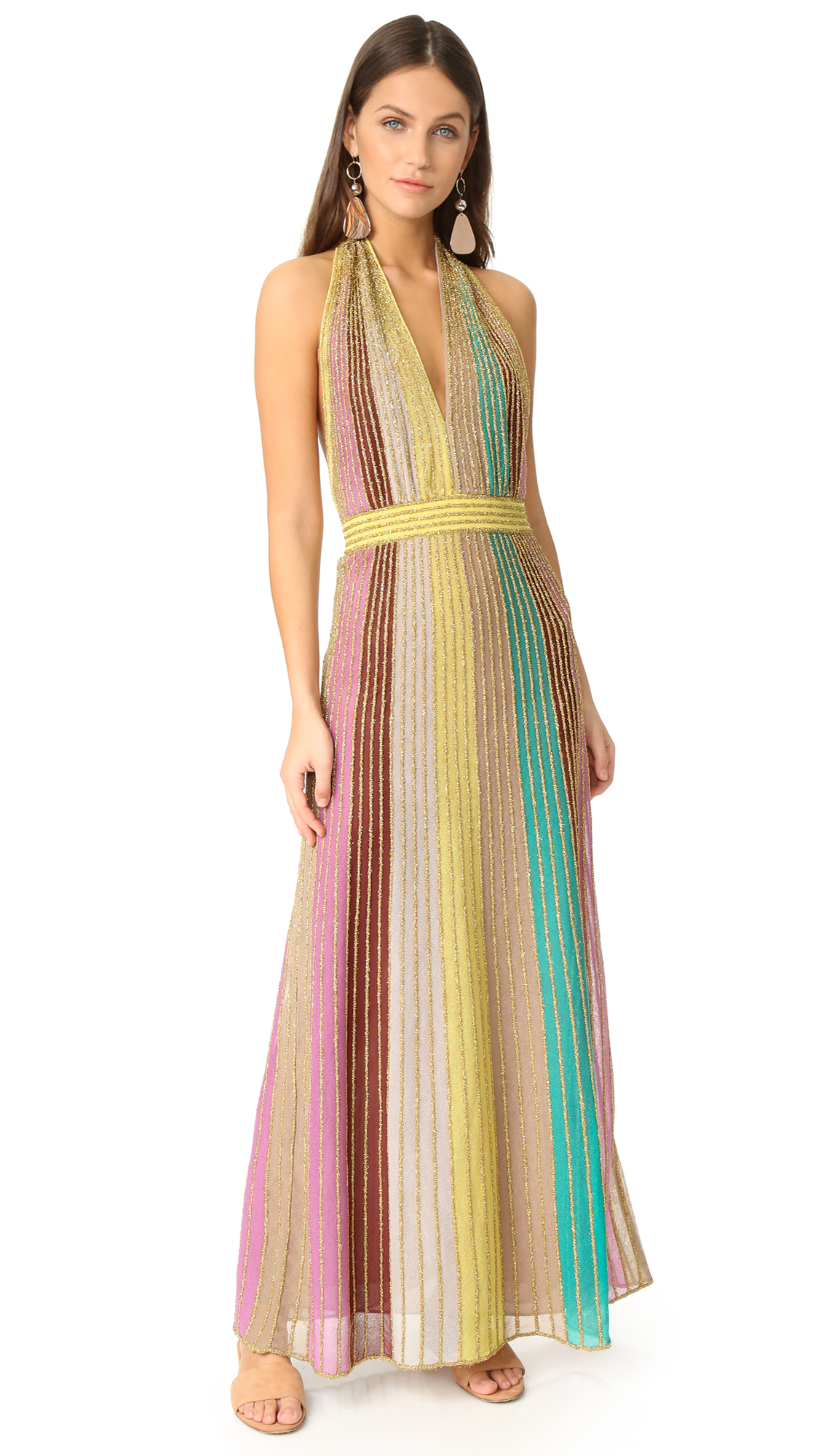 8bfb63367004 M Missoni Lurex Maxi Dress