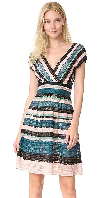M Missoni V Neck Mini Dress