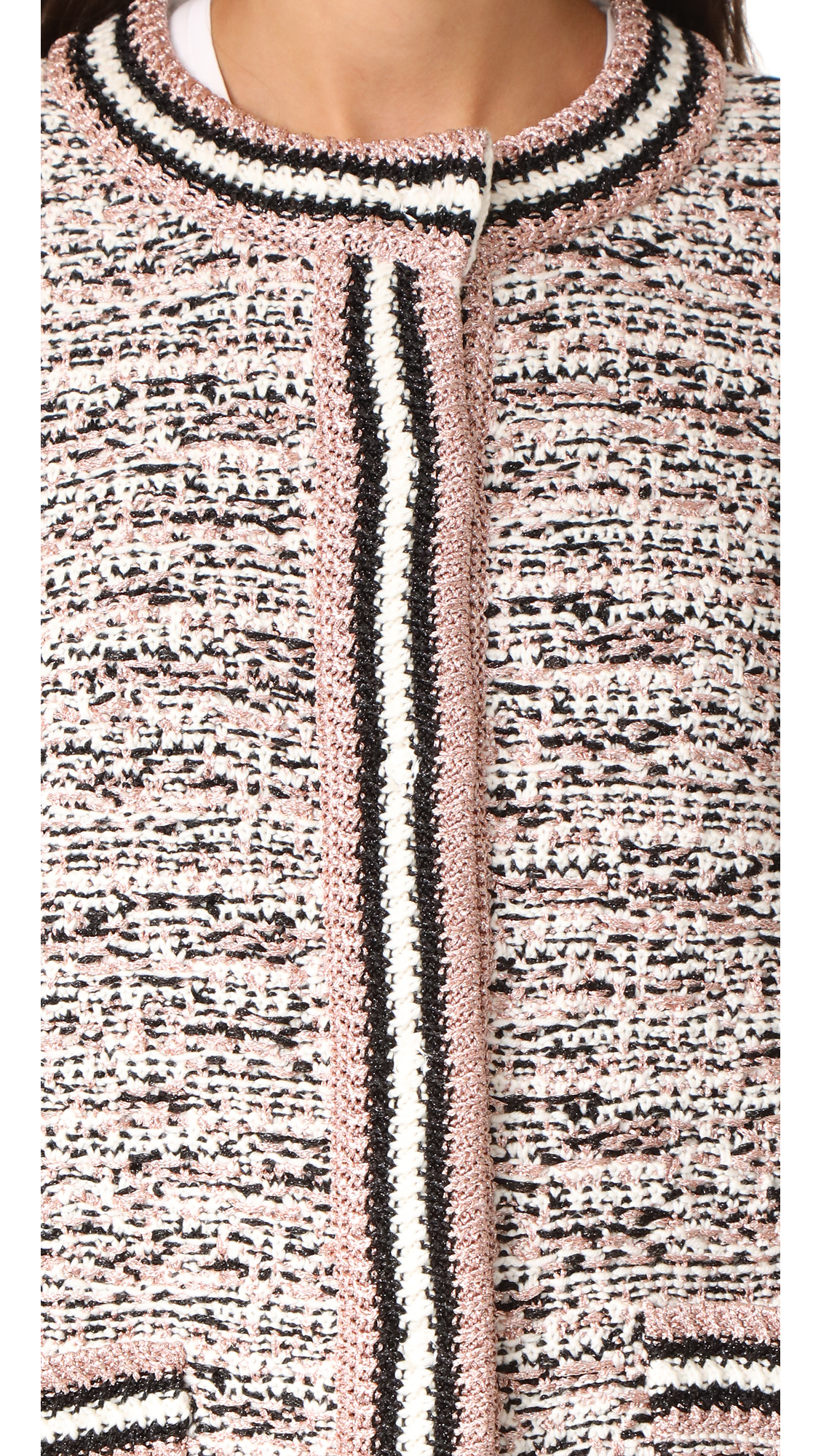 75e03138eb M Missoni Tweed Cardigan Jacket