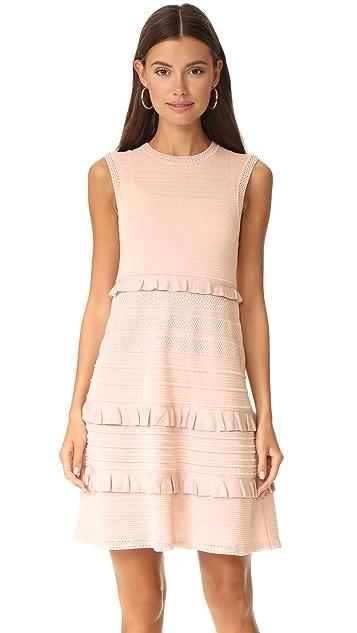 M Missoni Ruffle Sleeveless Dress