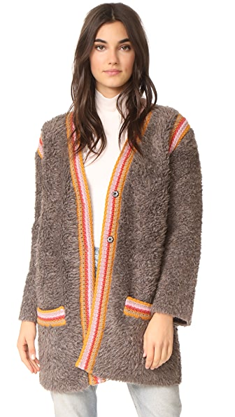 M Missoni Shawl Neck Cardigan - Taupe