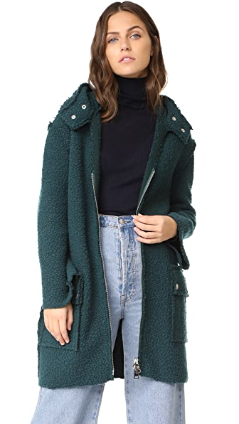 M Missoni Hooded Coat