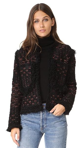 M Missoni Lurex Boucle Jacket - Black