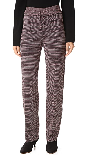 M Missoni Wide Leg Pants - Black