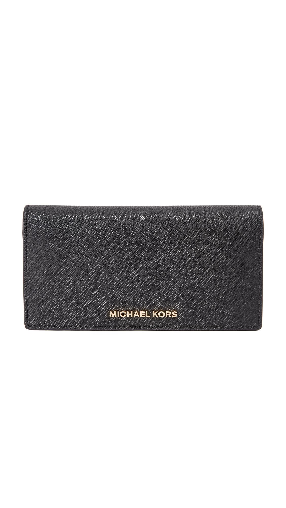 b10804c43a4e51 MICHAEL Michael Kors Jet Set Travel Large Slim Wallet | SHOPBOP