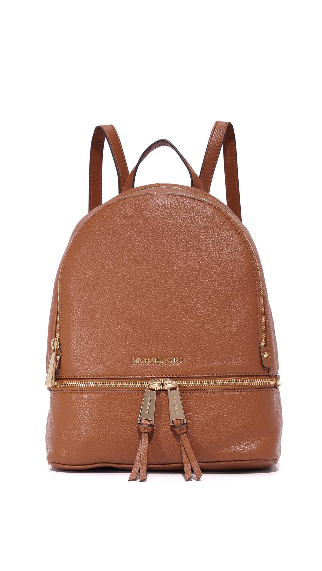 c4c038374ffd ... shopping michael michael kors rhea small backpack shopbop 88675 94a61