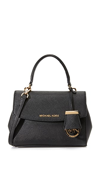 MICHAEL Michael Kors Ava Cross Body Bag - Black