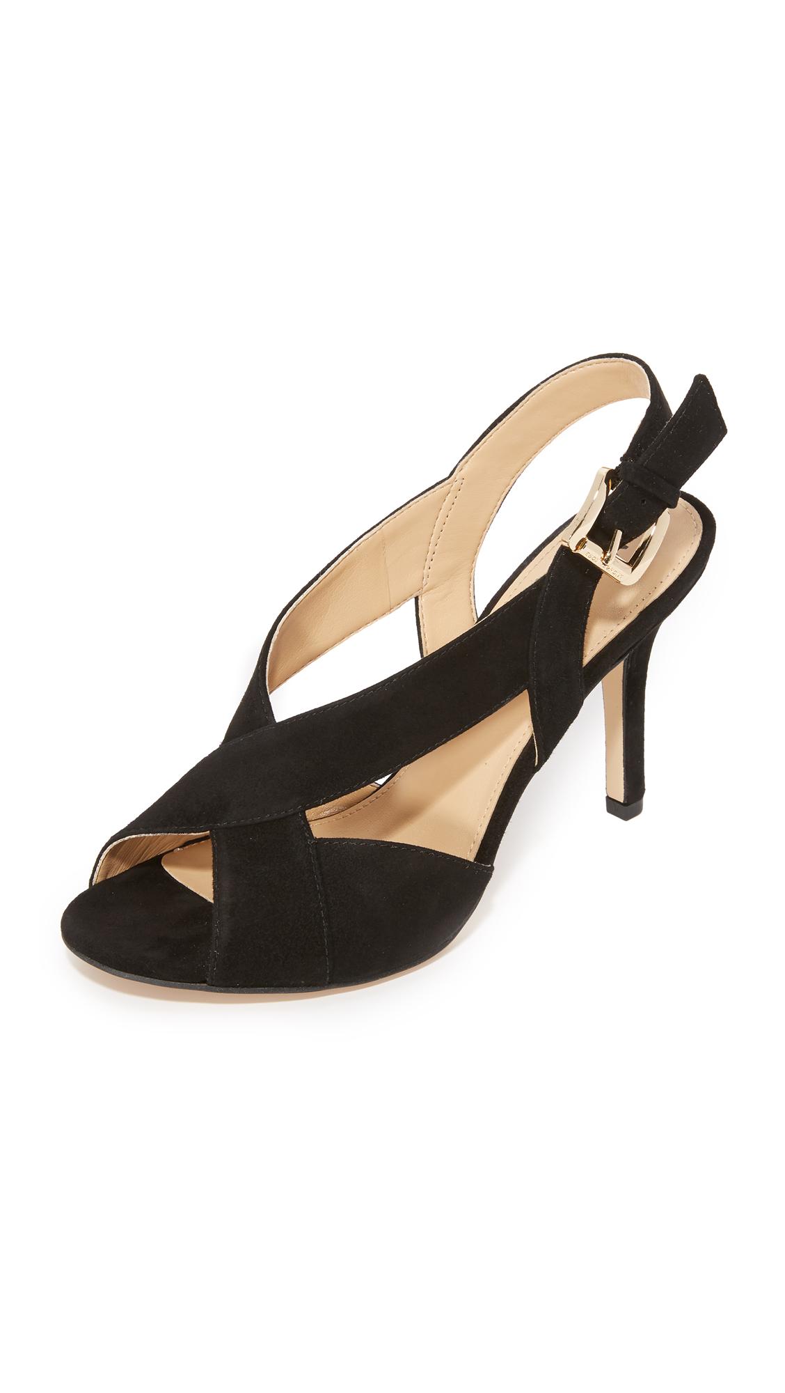 michael michael kors female 188971 michael michael kors becky sandals black