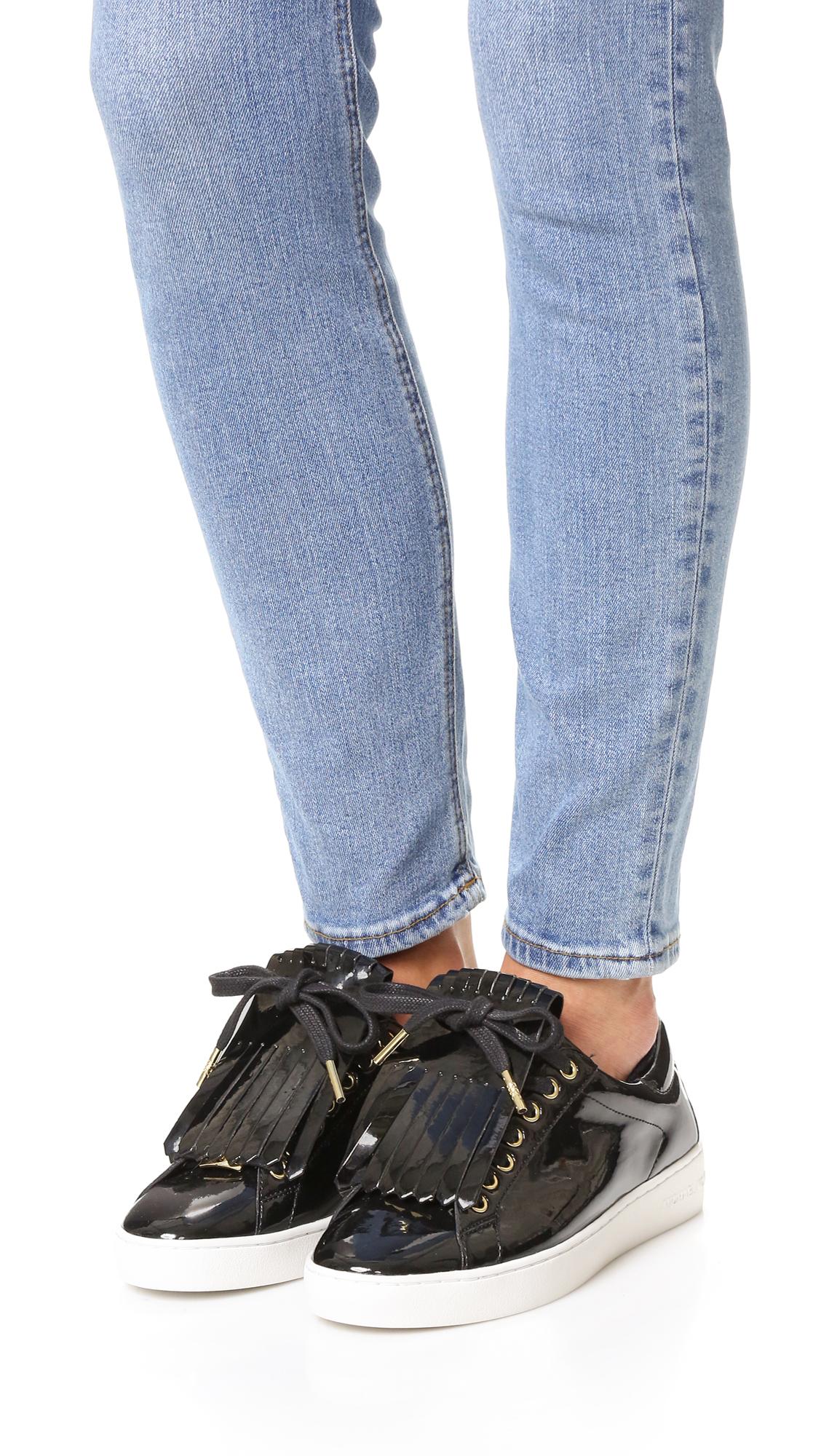 d7e546f42220 MICHAEL Michael Kors Keaton Kiltie Sneakers