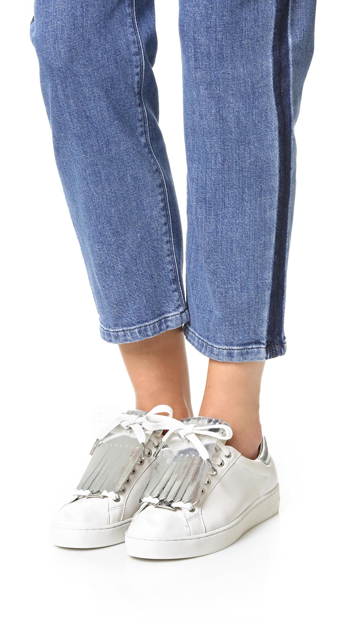 12fc385ff46 MICHAEL Michael Kors Keaton Kiltie Sneakers