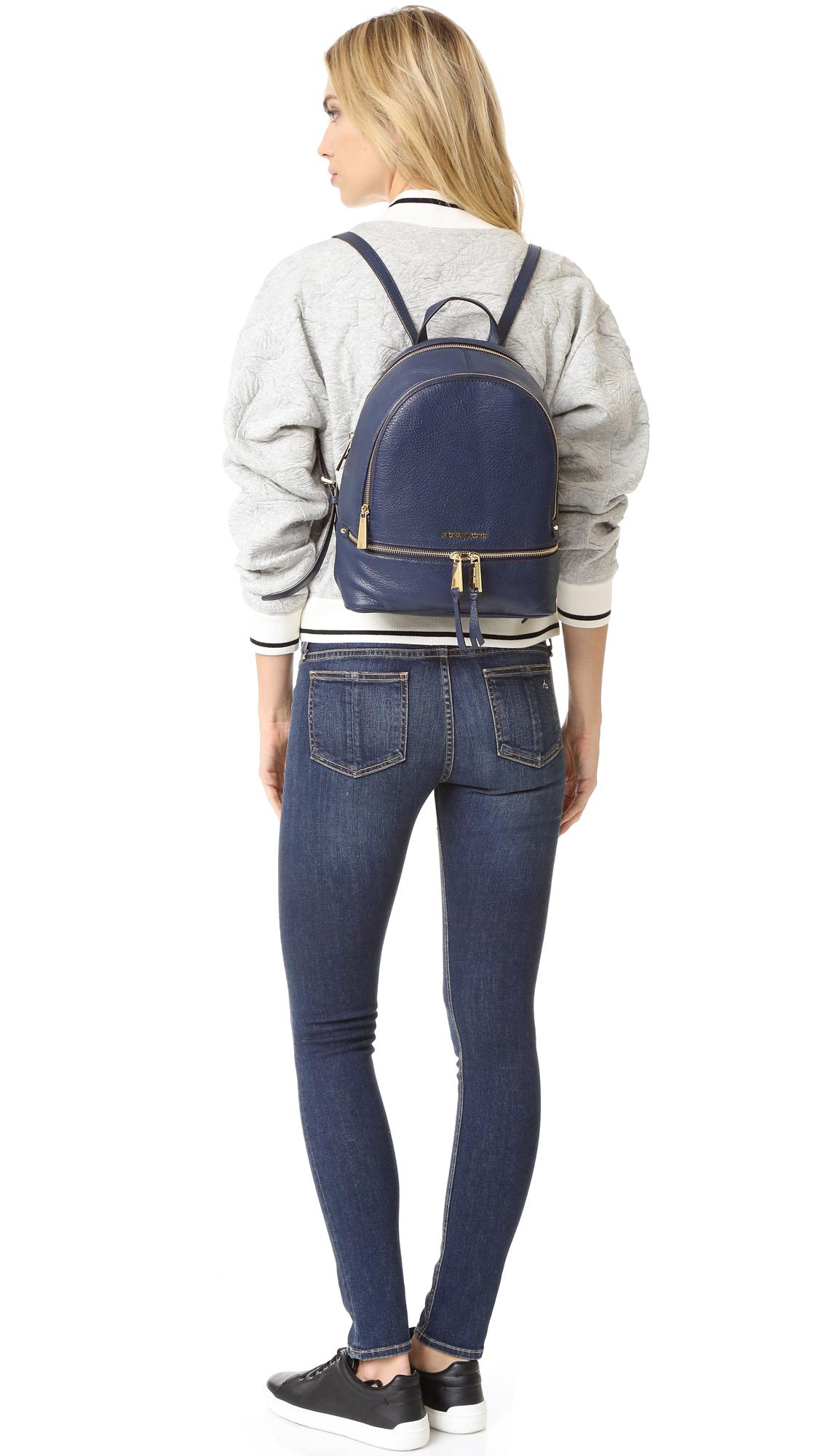 a4a837ee5e23 MICHAEL Michael Kors Rhea Small Backpack