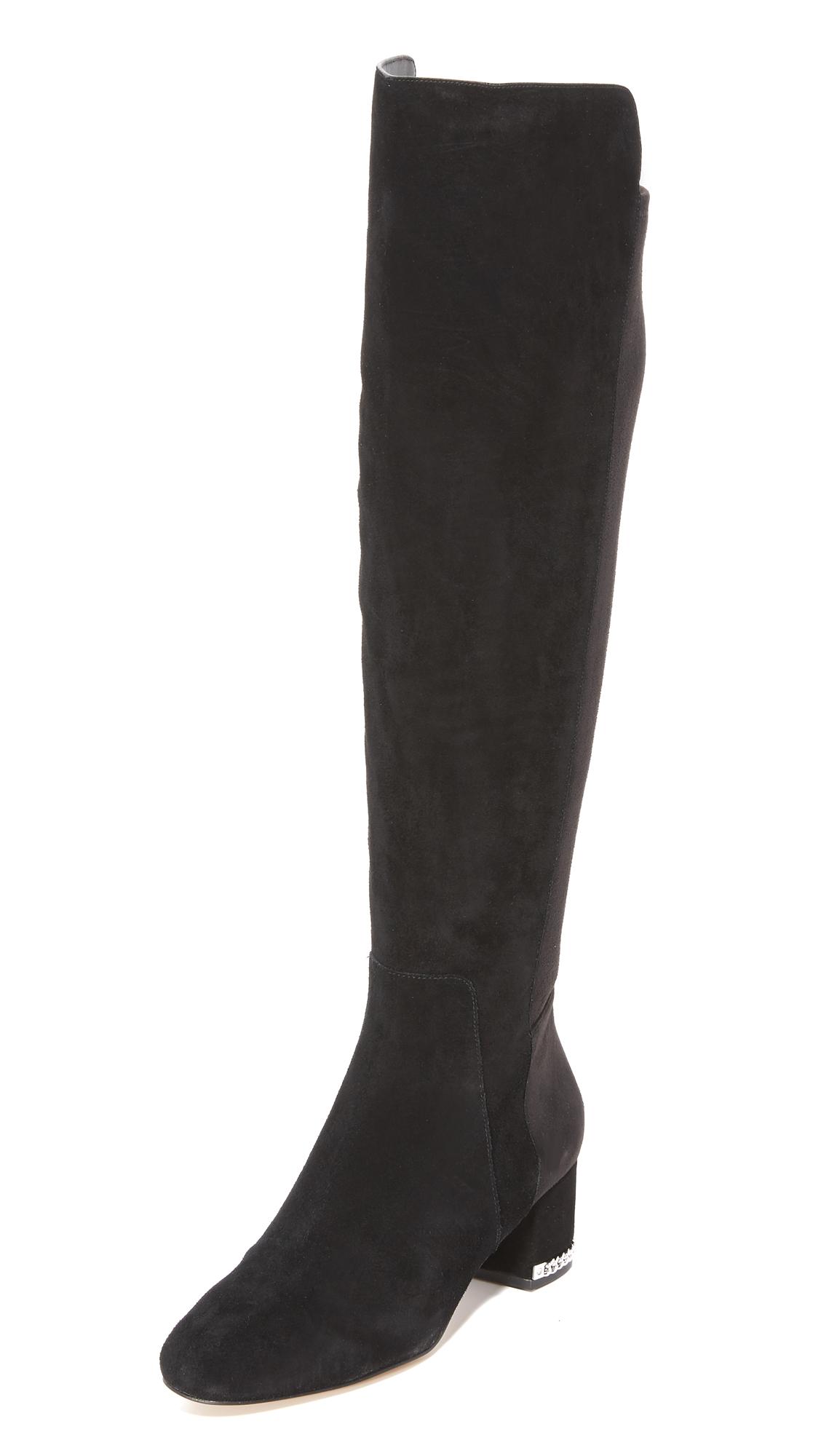 Michael Michael Kors Sabrina Over The Knee Boots - Black