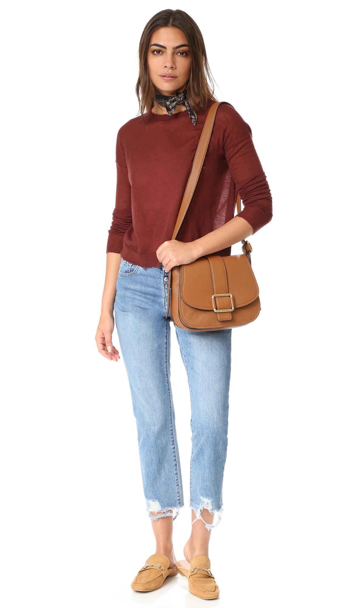92dea194349af MICHAEL Michael Kors Maxine Saddle Bag