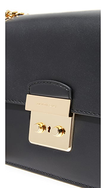 MICHAEL Michael Kors Sloan Editor Medium Chain Shoulder Bag