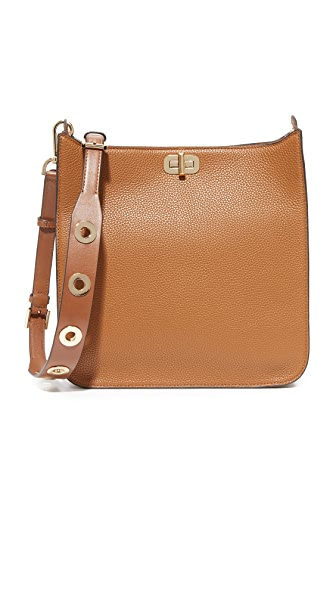 MICHAEL Michael Kors Sullivan Large Messenger Bag - Luggage