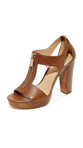 MICHAEL Michael Kors Berkley Sandals - Luggage