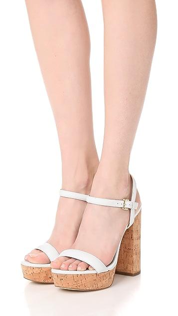 MICHAEL Michael Kors Dallas Platform Sandals