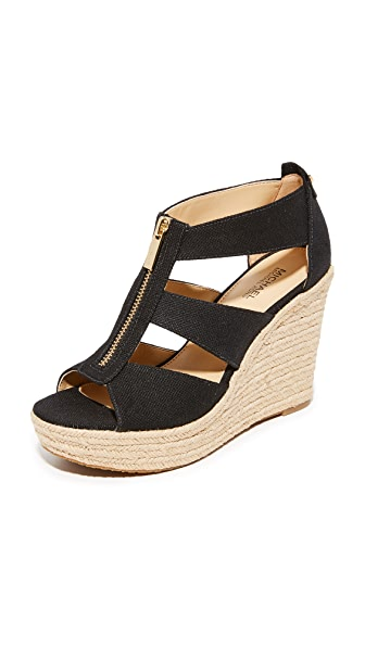 MICHAEL Michael Kors Damita Wedges - Black