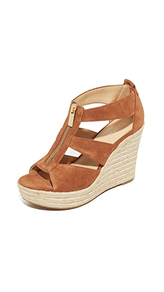 MICHAEL Michael Kors Damita Wedges - Luggage