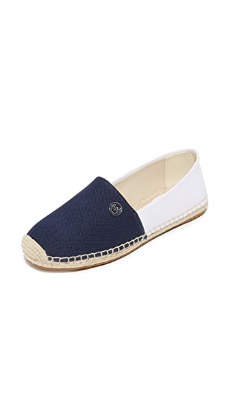 MICHAEL Michael Kors Kendrick Slip On Espadrilles - Admiral/Optic White