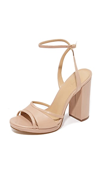 MICHAEL Michael Kors Yoonie Platform Sandals In Oyster