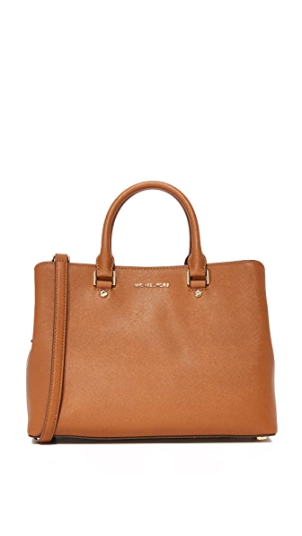 MICHAEL Michael Kors Large Savannah Satchel at Shopbop