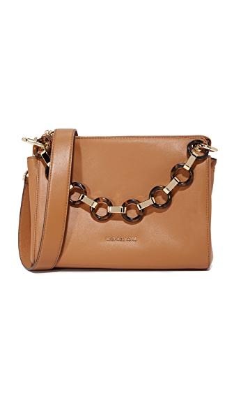 MICHAEL Michael Kors Gianna Medium Messenger Bag - Acorn