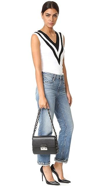 MICHAEL Michael Kors Piper Shoulder Flap Bag