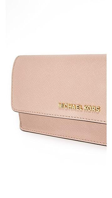 MICHAEL Michael Kors Jet Set Flat Wallet