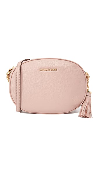MICHAEL Michael Kors Medium Ginny Messenger Bag - Fawn