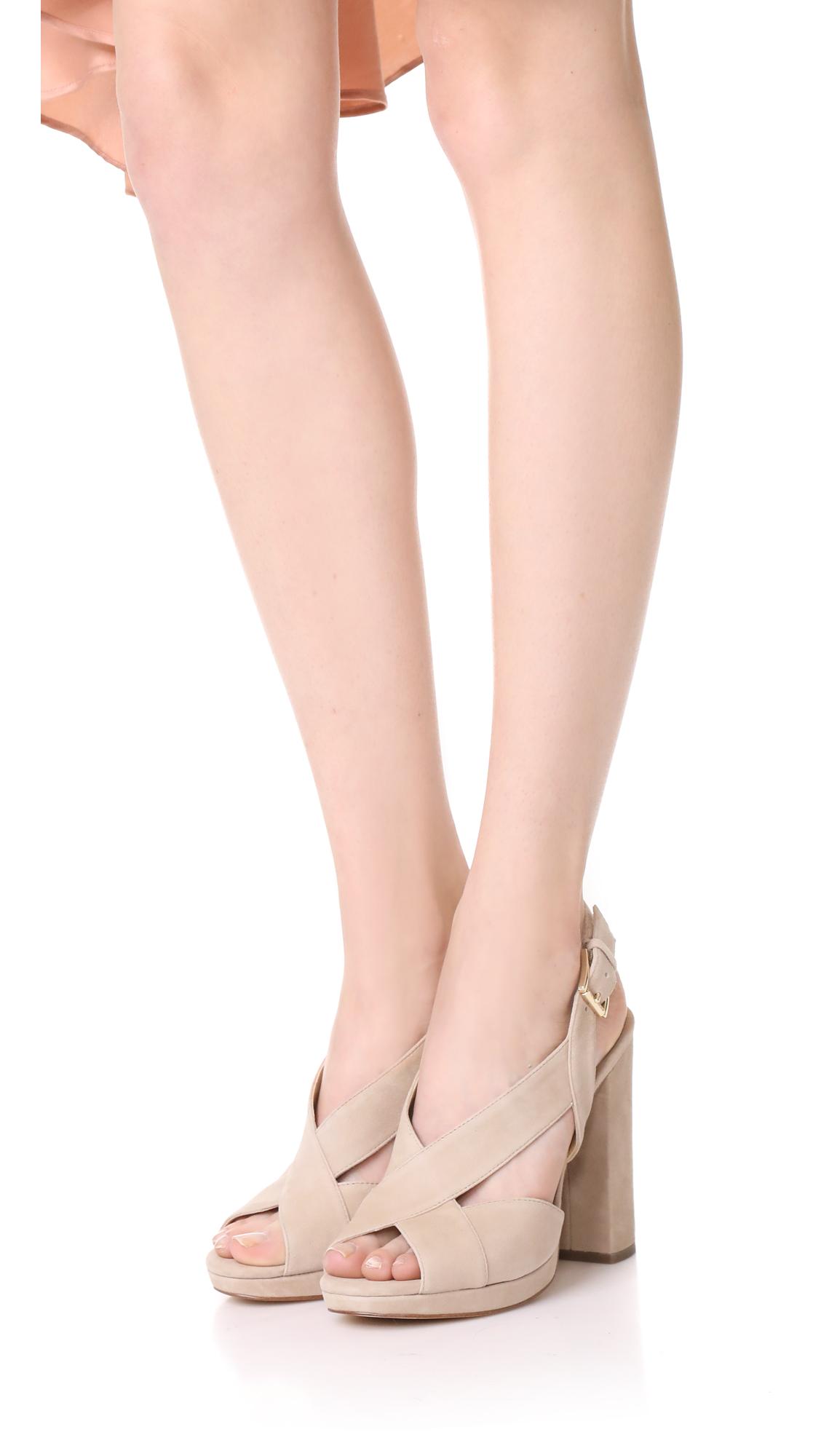 de331616667 MICHAEL Michael Kors Becky Platform Sandals